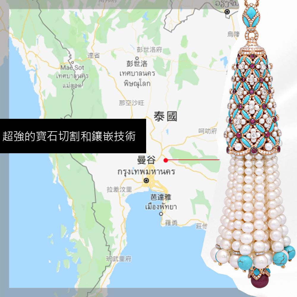 珠寶飾品世界貿易-泰國高訂珠寶製作技術強到讓你瞠目結舌