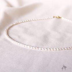 小公主Princess-3-3.5mm小天然珍珠項鍊
