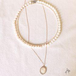 省2400| 奢華Luxury-經典珍珠項鍊超低價3件組