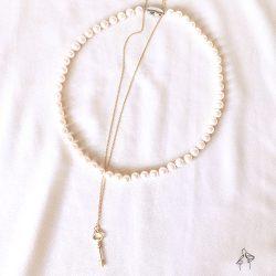 省1000| 都會Urban -經典珍珠項鍊混搭2件組