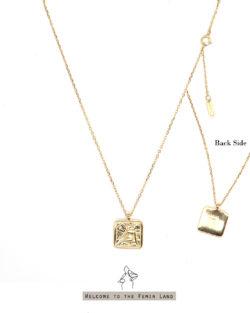 (預購)祝福者Bless Angel- 浮雕天使 925純銀鍍金