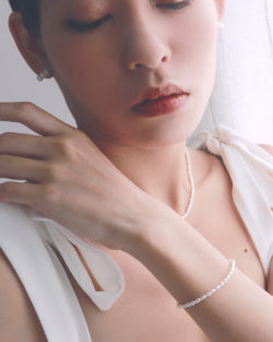 省200| 小公主的成年禮Con. My Princess- 原創天然小珍珠項鍊與手鍊 2件組